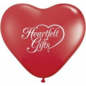 "36"" Standard Color Giant Heart Latex Balloon"