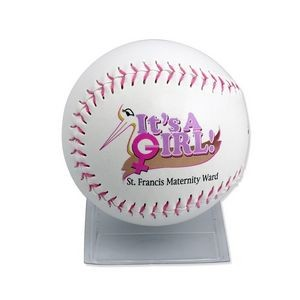 Baby Pink Thread Softball