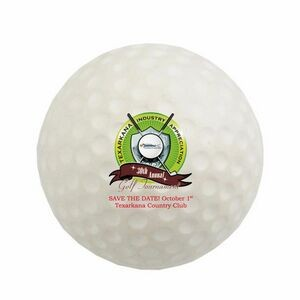Golf Ball Stress Reliever (Full Color Process)